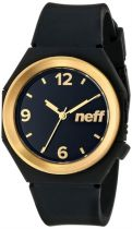 QNF0225 STRIPE NEFF Black Gold