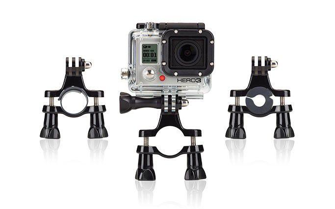 Camera Gopro Ride hero fixation tubulaire