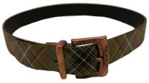 Ceinture O'Neill green plaid
