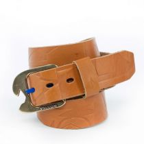Ceinture Volcom Typo Leather Belt Brown