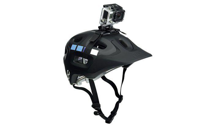 Fixation casque ventilé Camera Gopro vented helmet strap