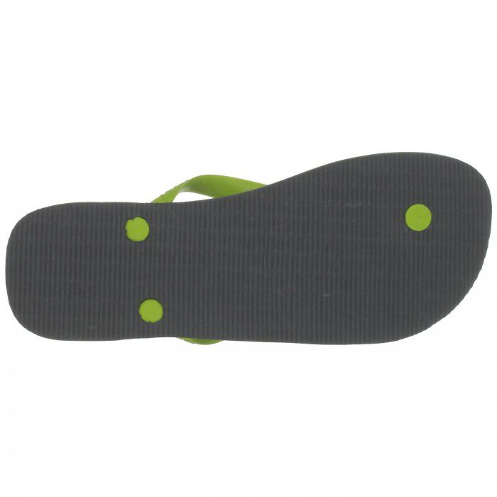 Tongs Havaianas Brasil Logo grey / lime